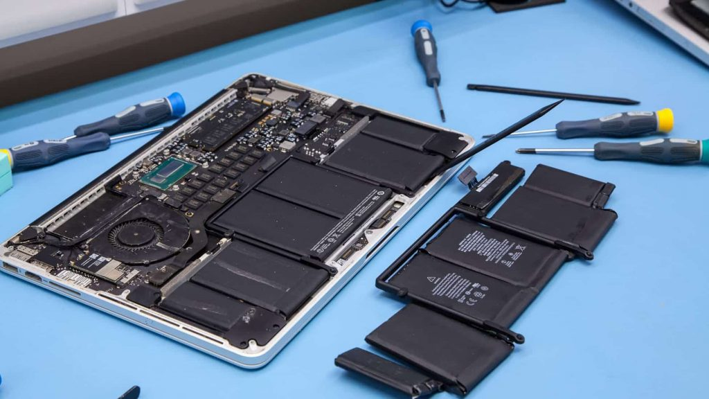 troca bateria macbook