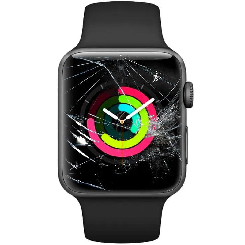 troca de vidro apple watch 2