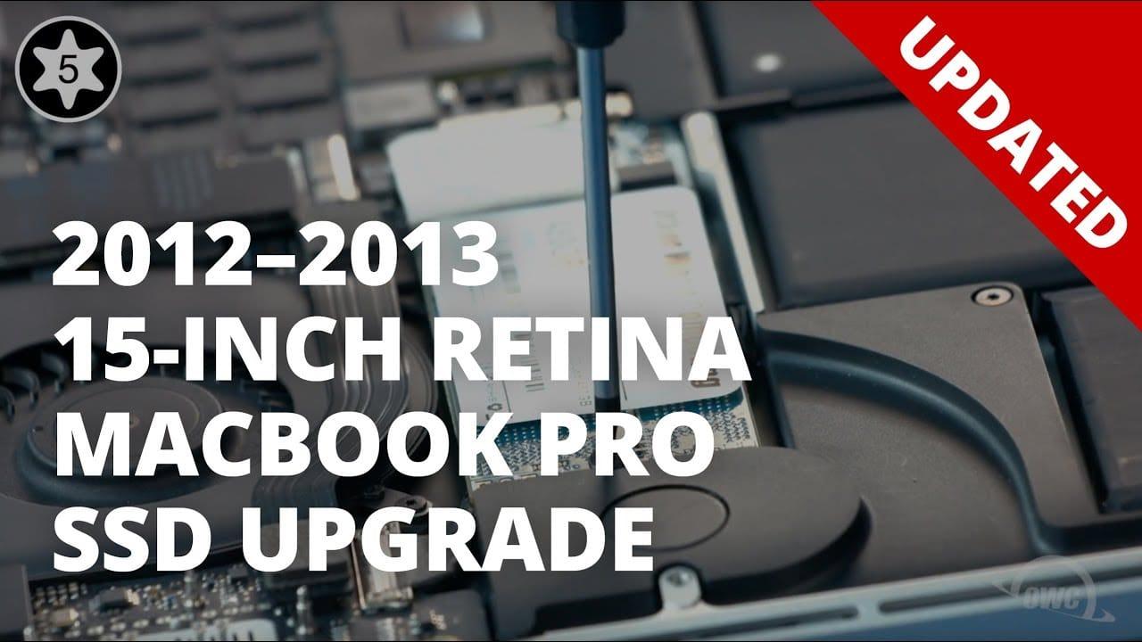 ssd macbook pro retina m2