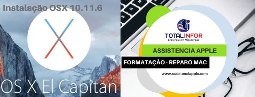 download, instalação El Capitan - Assistencia Apple - Totalinfor.co