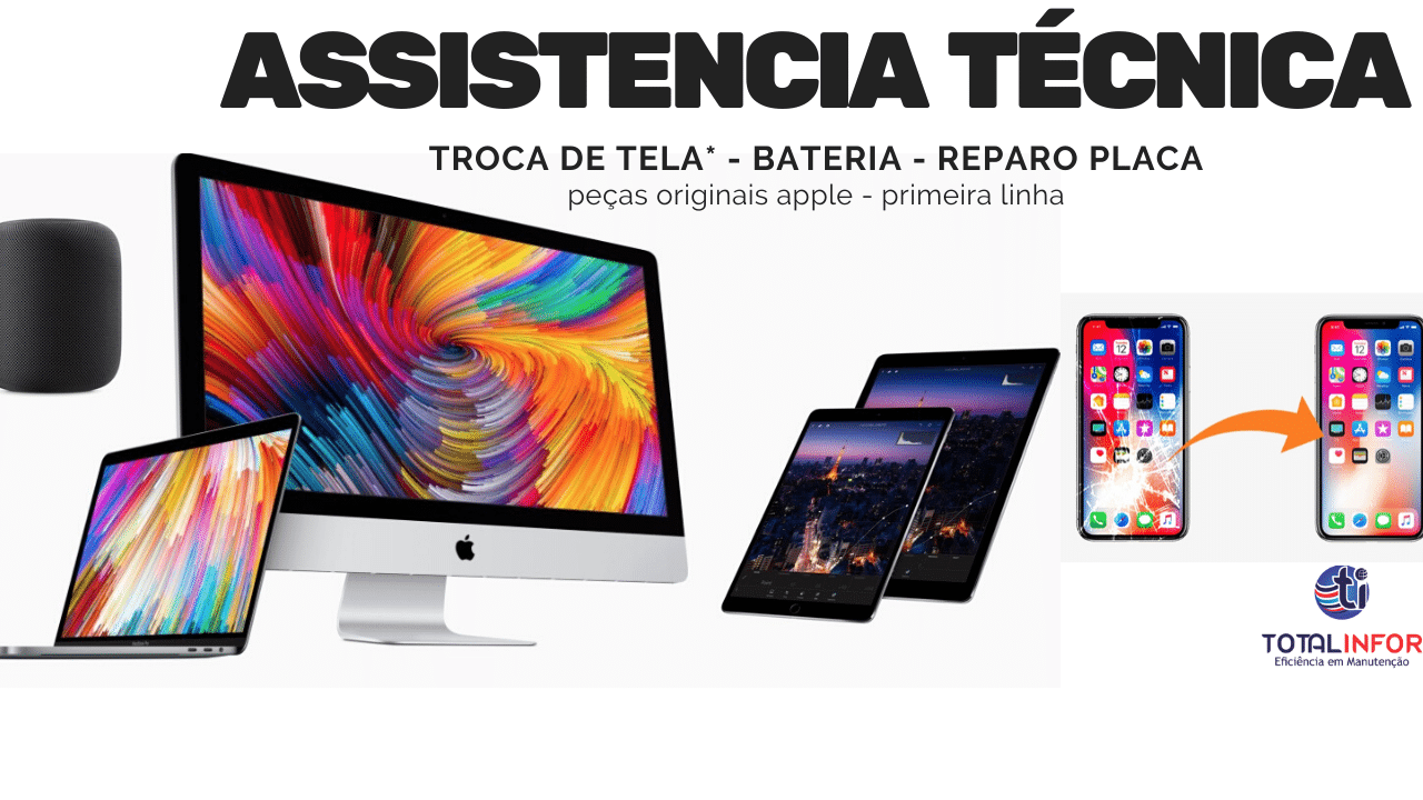 assistencia apple brasilia
