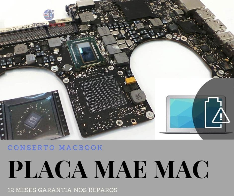reparo placa mae macbook