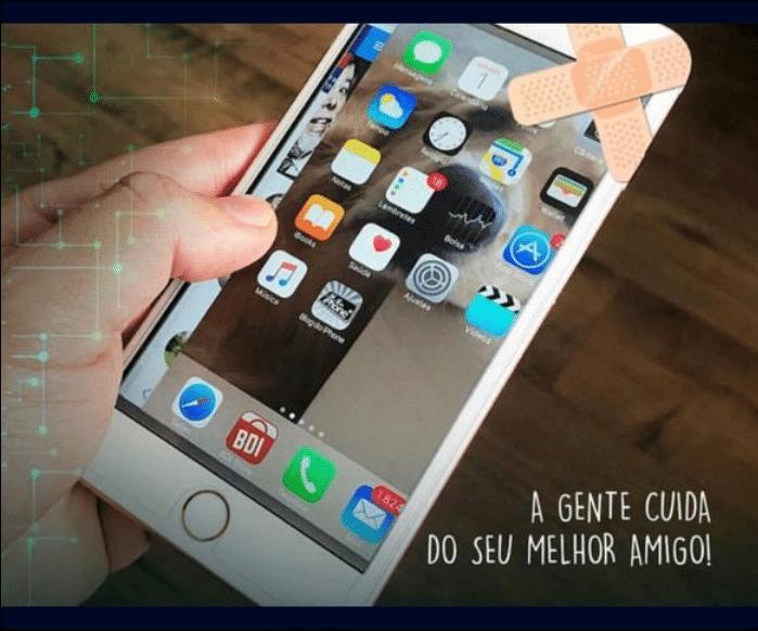 serviço de troca tela iphone