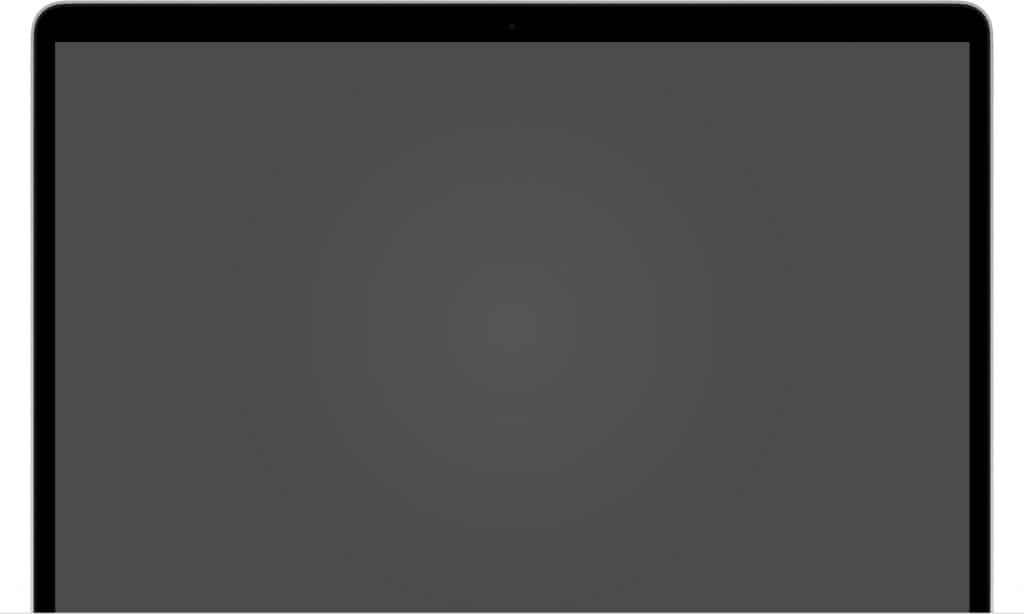 macbook nao liga, mostra Tela em branco (vazia)