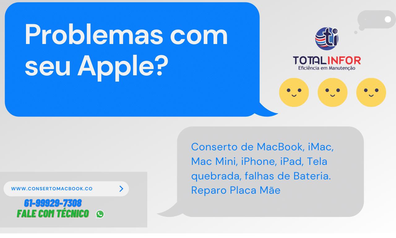 Assistência Técnica Apple Aguas Claras