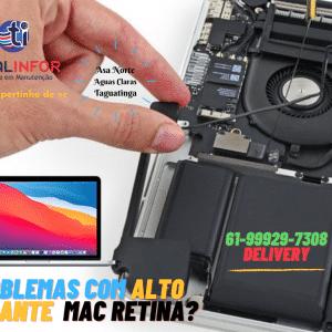 alto falante macbook retina